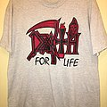 "Death ""Death For Life"" T-Shirt"