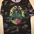 "Obituary ""Hopped In Half"" Camo T-Shirt"