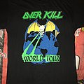 Overkill 1989 Tour Shirt