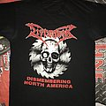 Dismember 'Dismembering North America'  tshirt