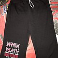 Napalm Death Rare Vintage Sweatpants Other Collectable