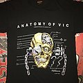 Megadeth 'Anatomy Of Vic' T-Shirt
