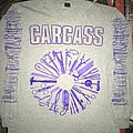 Carcass 'Gods Of Grind European Tour 1992' Gray L/S Shirt