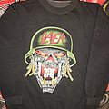 Slayer '91 'Clash Of the Titans' Gray Sweatshirt