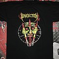 Benediction Europe 1993 tshirt