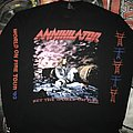 Annihilator 'Set the World in Fire' L/S Shirt