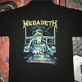 Megadeth 'Rust In Peace' World Tour Shirt