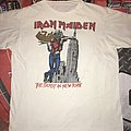 Iron Maiden 1982 'The Beast in New York' Rare Vintage T-Shirt