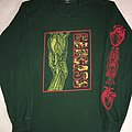 Carcass '94 'Heartwork Tour' Green L/S TShirt or Longsleeve