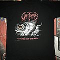 Obituary 'Cause Of Death' Tour Shirt