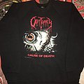 "Obituary '90 'Cause Of Death "" Sweatshirt"