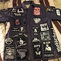 Unfinished jacket metal punk crust country