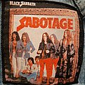 Sabotage woven patch