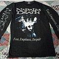 "Napalm Death - TShirt or Longsleeve - Napalm Death ""Fear, Emptiness, Despair"" Longsleeve"