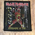 Iron Maiden - Somewhere In Time vintage patch