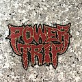 Power Trip - cut out logo patch