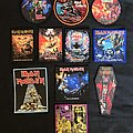 Iron Maiden patches