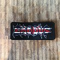 Exodus - Patch - Exodus - U.K. tour exclusive logo patch