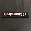 Iron Maiden - Patch - Iron Maiden - Fan Club Strip Patch