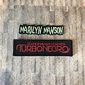 Marilyn Manson - Patch - Marilyn Manson & Turbonegro patches