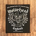 Motörhead - Patch - Motörhead - England warping patch