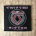 Twisted Sister - Patch - Twisted Sister logo patch