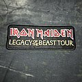 Iron Maiden - Patch - Iron Maiden - Legacy Of The Beast 2019 Tour Patch