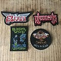 Saxon - Patch - Some new purchases