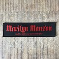 Marilyn Manson - Patch - Marilyn Manson - Guns, God and Government strip patch