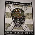 Patch - S.O.D `` Speak english or die `` patch