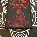 Cannibal Corpse - Patch - Cannibal Corpse A Skeletal Domain 2014 Patch