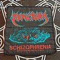 Sepultura - Patch - Sepultura Schizophrenia 1991 Patch
