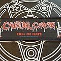 Cannibal Corpse Full Of Hate 1993 Patch