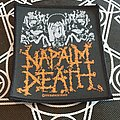 Napalm Death - Patch - Napalm Death From Enslavement To Obliteration 1992 Patch