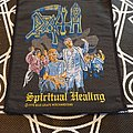 Death - Patch - Death Spiritual Healing 1990 Patch