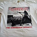 Gorefest   The eindhoven insanity T-shirt  (White)
