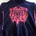 Broken Hope  Sickness Hate And Pure Fucking Brutality Hooded Top