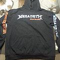 Megadeth - Hooded Top - Megadeth    Head Crusher  Single 2009 Hooded