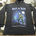 Iron Maiden - Hooded Top - Iron Maiden      A Matter of Life and Death  (The Reincarnation Of Benjamin...