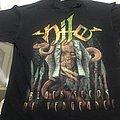 Nile   Black Seeds of Vengeance  T Shirt