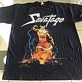 Savatage - TShirt or Longsleeve - Savatage  Total devastation world tour T-Shirt