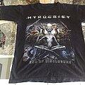 Hypocrisy - TShirt or Longsleeve - Hypocrisy  End of Disclosure T-Shirt