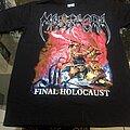 Massacra - TShirt or Longsleeve - Massacra   Final Holocaust T-shirt