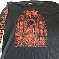 Nuclear Desecration    Desecrated Temple of Impurity  L-Shirt