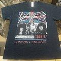 Slayer - TShirt or Longsleeve - Slayer   Tour 87    London / England  T-Shirt