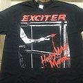 Exciter   Heavy Metal Maniac  T Shirt