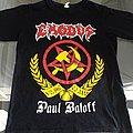 Exodus - TShirt or Longsleeve - Exodus   Paul Baloff T-Shirt