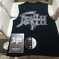Death   live in L.A.  Sleveless shirt