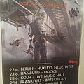 Megadeth Dystopia Germany Tour Poster Other Collectable