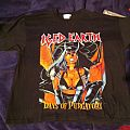 Iced Earth - TShirt or Longsleeve - Iced Earth Burn'in Down The Bible Belt Shirt 1997